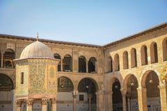 Μουσουλμανικό τέμενος Umayyad, Damaskus Στοκ Εικόνες