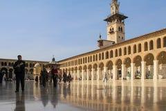 Μουσουλμανικό τέμενος Umayyad, Damaskus Στοκ Φωτογραφίες