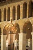 Μουσουλμανικό τέμενος Umayyad, Damaskus Στοκ φωτογραφία με δικαίωμα ελεύθερης χρήσης