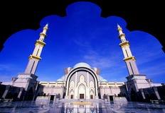 μουσουλμανικό τέμενος wilayah Στοκ φωτογραφία με δικαίωμα ελεύθερης χρήσης
