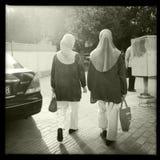 Μουσουλμανικές γυναίκες Στοκ εικόνες με δικαίωμα ελεύθερης χρήσης