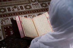 μουσουλμανική γυναίκα &a Στοκ Εικόνα