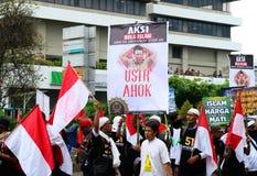 Μουσουλμανικοί διαμαρτυρόμενοι στοκ εικόνες