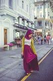 Μουσουλμανικό κορίτσι Στοκ Εικόνες