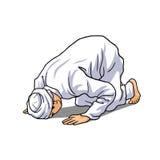 Μουσουλμανικό να κάνει Salah Στοκ Εικόνα