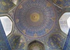 Μουσουλμανικό τέμενος ιμαμών (ιμάμης masjed-ε) στο Ισφαχάν, Ιράν στοκ φωτογραφίες