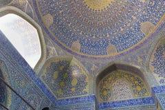 Μουσουλμανικό τέμενος ιμαμών (ιμάμης masjed-ε) στο Ισφαχάν, Ιράν στοκ εικόνα με δικαίωμα ελεύθερης χρήσης