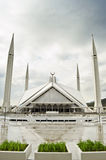 Μουσουλμανικό τέμενος Ισλαμαμπάντ Faisal Shah Στοκ εικόνες με δικαίωμα ελεύθερης χρήσης