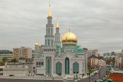 Μουσουλμανικό τέμενος καθεδρικών ναών της Μόσχας Στοκ φωτογραφία με δικαίωμα ελεύθερης χρήσης