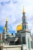 Μουσουλμανικό τέμενος καθεδρικών ναών της Μόσχας στοκ εικόνες