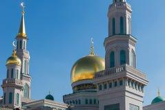 Μουσουλμανικό τέμενος καθεδρικών ναών της Μόσχας Στοκ Φωτογραφίες
