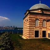 Μουσουλμανικό τέμενος και Ιστανμπούλ Στοκ Φωτογραφία