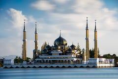 Μουσουλμανικό τέμενος κρυστάλλου Στοκ φωτογραφίες με δικαίωμα ελεύθερης χρήσης
