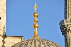Μουσουλμανικό τέμενος, μιναρές στοκ εικόνα με δικαίωμα ελεύθερης χρήσης
