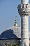 Μουσουλμανικό τέμενος, μιναρές στοκ εικόνα
