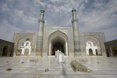 Μουσουλμανικό τέμενος Παρασκευής της Χεράτ στοκ φωτογραφία