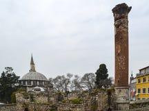 Μουσουλμανικό τέμενος πασάδων Mehmed Sokollu Στοκ φωτογραφία με δικαίωμα ελεύθερης χρήσης