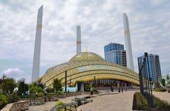 Μουσουλμανικό τέμενος σε Argun στην τσετσένια Δημοκρατία Ρωσία Στοκ Φωτογραφίες
