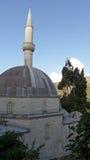 Μουσουλμανικό τέμενος σε Pocitelj, Βοσνία-Ερζεγοβίνη Στοκ εικόνες με δικαίωμα ελεύθερης χρήσης
