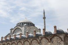 Μουσουλμανικό τέμενος σουλτάνων Mihrimah, Edirnekapi, Ιστανμπούλ Στοκ Φωτογραφίες