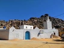 Μουσουλμανικό τέμενος στην έρημο Σαχάρας στοκ εικόνες