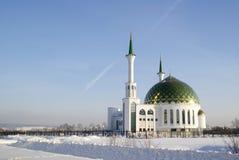 Μουσουλμανικό τέμενος στην πόλη Kemerovo Στοκ Εικόνες