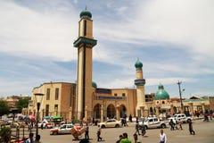 Μουσουλμανικό τέμενος στην πόλη Sulaimania, Κουρδιστάν, Ιράκ Στοκ εικόνα με δικαίωμα ελεύθερης χρήσης