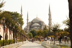 Μουσουλμανικό τέμενος στη Ιστανμπούλ που ονομάζεται Hagia Sophia στοκ εικόνες