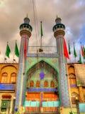 Μουσουλμανικό τέμενος στο κέντρο της πόλης της Τεχεράνης Στοκ φωτογραφία με δικαίωμα ελεύθερης χρήσης