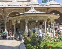 Μουσουλμανικό τέμενος στο konya, Τουρκία στοκ εικόνα