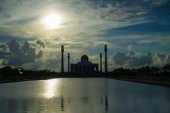 Μουσουλμανικό τέμενος Ταϊλάνδη κεντρικού Songkla Στοκ εικόνες με δικαίωμα ελεύθερης χρήσης