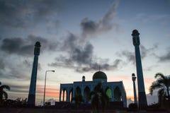 Μουσουλμανικό τέμενος Ταϊλάνδη κεντρικού Songkla Στοκ εικόνα με δικαίωμα ελεύθερης χρήσης