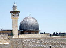 Μουσουλμανικό τέμενος 2010 της Ιερουσαλήμ Al-Aqsa Στοκ εικόνες με δικαίωμα ελεύθερης χρήσης