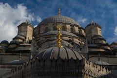 Μουσουλμανικό τέμενος της Ιστανμπούλ Στοκ Φωτογραφία