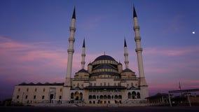 Μουσουλμανικό τέμενος της Cami Kocatepe Στοκ εικόνα με δικαίωμα ελεύθερης χρήσης