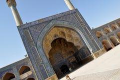 μουσουλμανικό τέμενος του Ιράν Στοκ Εικόνες