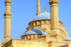 Μουσουλμανικό τέμενος του Μωάμεθ Al-Amin Στοκ εικόνα με δικαίωμα ελεύθερης χρήσης