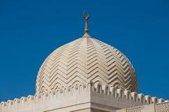 Μουσουλμανικό τέμενος του Ντουμπάι στοκ φωτογραφία με δικαίωμα ελεύθερης χρήσης
