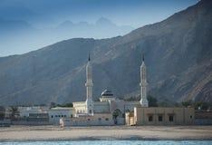 Μουσουλμανικό τέμενος του Ομάν στοκ εικόνες