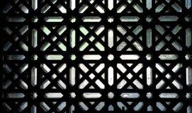 Μουσουλμανικό τέμενος του παραθύρου λεπτομέρειας της Κόρδοβα Στοκ Φωτογραφία