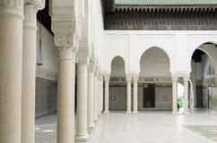Μουσουλμανικό τέμενος του Παρισιού στοκ φωτογραφία με δικαίωμα ελεύθερης χρήσης