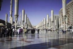 Μουσουλμανικό τέμενος του προφήτη Στοκ φωτογραφία με δικαίωμα ελεύθερης χρήσης