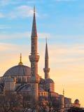 Μουσουλμανικό τέμενος του Ahmed σουλτάνων Ιστανμπούλ, Τουρκία Στοκ Εικόνα