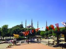 Μουσουλμανικό τέμενος του Ahmed σουλτάνων κτηρίων της Ιστανμπούλ Στοκ Φωτογραφία