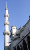 Μουσουλμανικό τέμενος του Ahmed σουλτάνων (μπλε μουσουλμανικό τέμενος), Ιστανμπούλ στοκ φωτογραφία με δικαίωμα ελεύθερης χρήσης