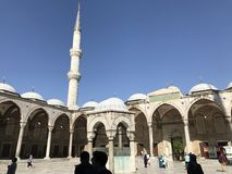 Μουσουλμανικό τέμενος του Ahmed σουλτάνων στοκ φωτογραφίες