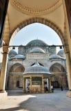 Μουσουλμανικό τέμενος του Mehmet Shehzade στη Ιστανμπούλ Στοκ εικόνα με δικαίωμα ελεύθερης χρήσης