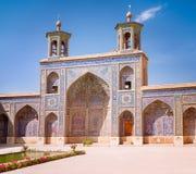Μουσουλμανικό τέμενος του Nasir Al-Mulk στη Shiraz, Ιράν Στοκ Φωτογραφίες