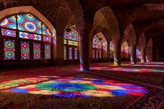 Μουσουλμανικό τέμενος του Nasir Al-Mulk στη Shiraz Στοκ εικόνες με δικαίωμα ελεύθερης χρήσης