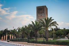 Μουσουλμανικό τέμενος Χασάν, Rabat Στοκ εικόνα με δικαίωμα ελεύθερης χρήσης